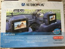 CAR DVD SET, INCLUDES TWO SCREENS in Lockport, Illinois