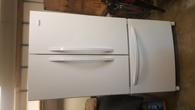 White Kenmore elite trio refrigerator in Cherry Point, North Carolina