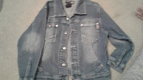 Blue jeans jacket size 6 in Camp Lejeune, North Carolina