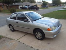 1998 Hyundai accent in Lawton, Oklahoma