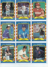 1987 Fleer Limited Edition Baseball (MLB) Superstars (R. Clemens, J. Canseco  & more) in Fort Riley, Kansas