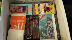 Box of vhs in Fort Lewis, Washington