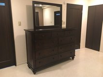 Ashley Furniture Dresser with mirror in Okinawa, Japan