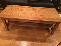 Honey Oak Mission Style Coffee Table in Chicago, Illinois