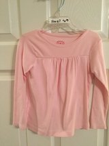 Girl's Pink Long Sleeve Shirt Size 4T in Kingwood, Texas