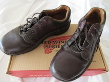 Red wing women steel protected shoes, original price $165 in Fort Campbell, Kentucky