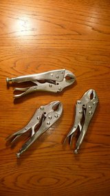 Locking pliers; some call it vise-grips in Okinawa, Japan