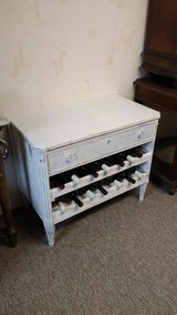 white wine cabinet with one drawer in Ramstein, Germany