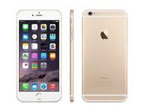 iPhone 6, gold, 16KB with charger/Unlocked in Aurora, Illinois