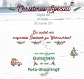 Christmas Special - Photo-Shooting Specials for you! 20. October - 20 December 2017 in Stuttgart, GE