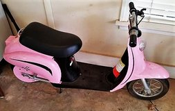 Pink Scooter - Runs Great in Warner Robins, Georgia