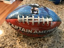 Small Soft Captain America Football in Oswego, Illinois