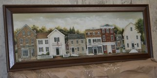 picture in frame-small town scene in Fort Leonard Wood, Missouri