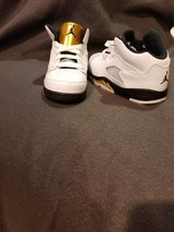 Size 8 Toddler Jordan's just in time for christmas in Fort Meade, Maryland