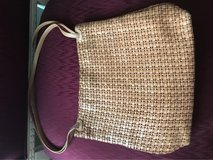 Woven tan leather Shoulder Bag in Naperville, Illinois