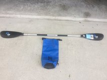 Kayak Paddle and Dry Bag in Cherry Point, North Carolina