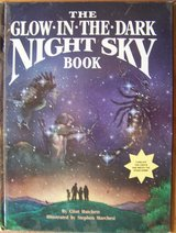The Glow-In-The-Dark Night SKY Book Childrens Hard Cover RARE 1988 in Joliet, Illinois