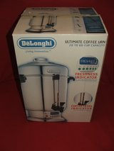 DeLonghi Ultimate Coffee Urn Commercial Stainless Model DCU72 in St. Charles, Illinois