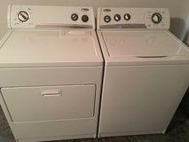 Whirlpool washer and dryer set in Cherry Point, North Carolina