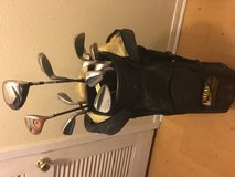 Full set of golf clubs and balls in Spring, Texas