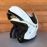 HJC Modular Motorcycle Helmet - White- XL Size - Gently Used and Very Clean in Alamogordo, New Mexico