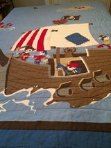 PIRATE THEMED QUILT & LAMP in Kingwood, Texas
