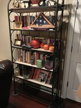 Turkish Wrought Iron and Marble Book Case in Tacoma, Washington