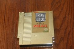 NES Nintendo Zelda Gold 1985 in Kingwood, Texas