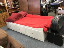 Captains Bed (white twin) in Glendale Heights, Illinois
