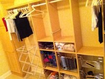 California Closet Laundry System (Light Maple Color) in Naperville, Illinois