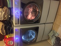 Kenmore Elite front loader washer and dryer w/stands in Travis AFB, California