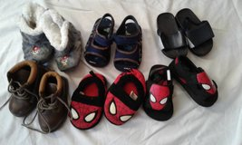 Boys size 5-6 sandals and slippers in Greenville, North Carolina