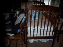 BASSETT BABY CRIB (COMPLETE) (Regulated) & much more! in Gloucester Point, Virginia