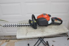 Husqvarna 122HD45 hedge trimmer in Byron, Georgia