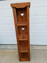 Heart Shape Solid Pine Shelf in Fort Campbell, Kentucky