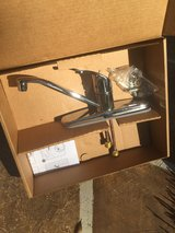 New in box single handle faucet in Kingwood, Texas