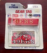 49ers Bag Tag in Fort Knox, Kentucky