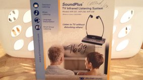 Williams Soundplus TV Infrared Listening System WIR 238 in Glendale Heights, Illinois