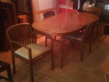 OVAL DINING TABLE SET in Hampton, Virginia