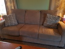 Beige/Gold Couch-Large, Excellent Condition in Alamogordo, New Mexico