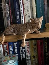Leopard.....ceramic in Camp Pendleton, California