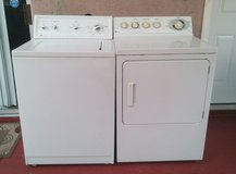 WASHER AND ELECTRIC DRYER in Oceanside, California