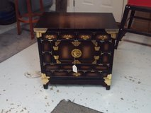 Oriental Style Cabinet/End Table in Warner Robins, Georgia