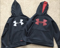 Boy's Under Armour Hoodies-(size YSM) in Bolingbrook, Illinois