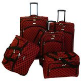 ***American Flyer 5-piece Spinner Luggage Set***LIKE NEW in Katy, Texas