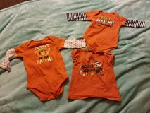 Girls 3/6m Halloween shirts in Spring, Texas