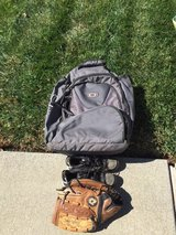 Softball backpack -Glove - shoes in Vacaville, California