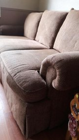 Couch made by Massoud in Fort Polk, Louisiana