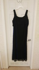 Black Dress with Royal Blue Reflection in Camp Lejeune, North Carolina