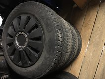 Winter / snow tires on rims 155/80-13 in Ramstein, Germany